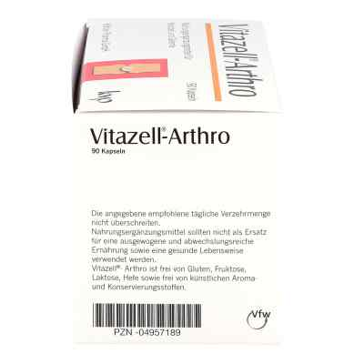 Vitazell Arthro Kapseln  bei juvalis.de bestellen