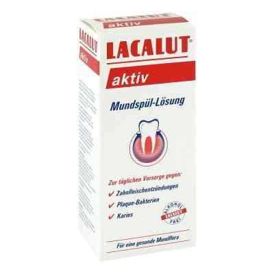 Lacalut aktiv Mundspüllösung  bei juvalis.de bestellen