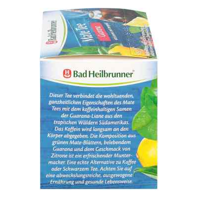 Bad Heilbrunner Tee Guarana Mate Kräuterpower  bei juvalis.de bestellen