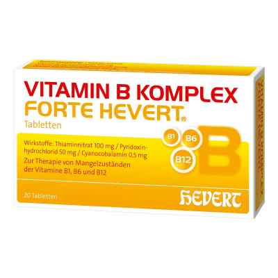 Vitamin B Komplex forte Hevert Tabletten  bei juvalis.de bestellen