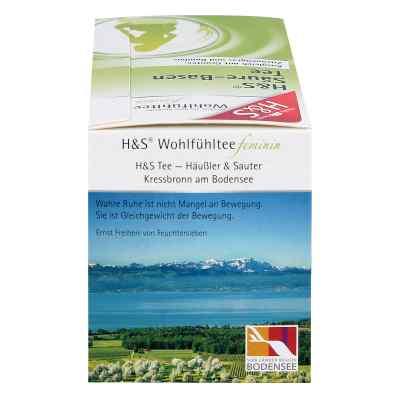 H&s Wohlfühltee feminin Säuren Basen Tee Filterb  bei juvalis.de bestellen