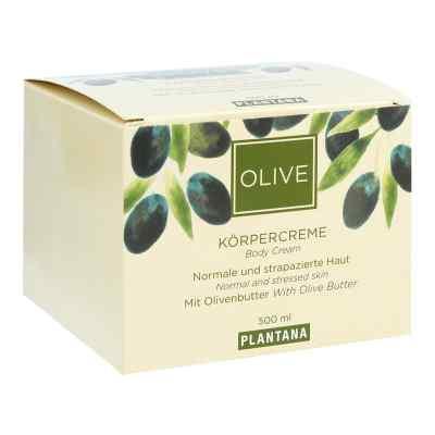 Plantana Olive Butter Körper Creme  bei juvalis.de bestellen