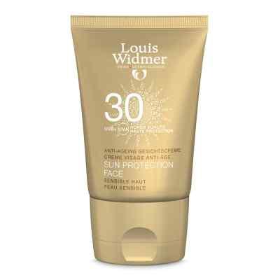 Widmer Sun Protection Face Creme 30 leicht parfüm  bei juvalis.de bestellen