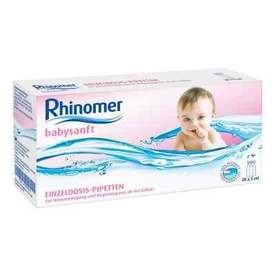 Rhinomer babysanft Meerwasser 5ml Einzeldosispipetten  bei juvalis.de bestellen