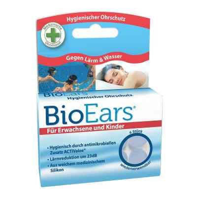 Bioears Silikon Ohrstöpsel antimikrobielle  bei juvalis.de bestellen