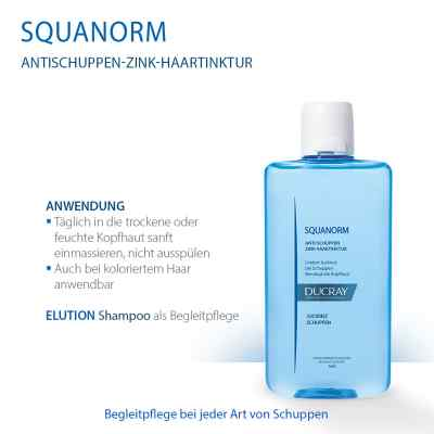 Ducray Squanorm Anti Schuppen Zink Haartinktur  bei juvalis.de bestellen