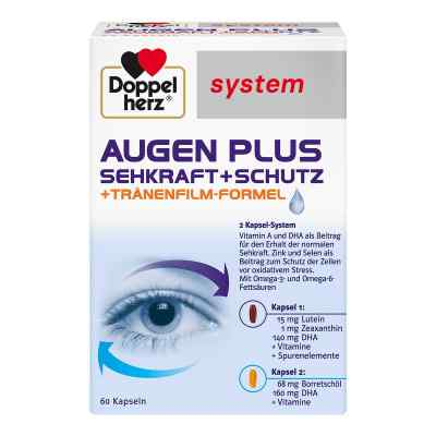 Doppelherz Augen plus Sehkraft+schutz system Kapsel (n)   bei juvalis.de bestellen