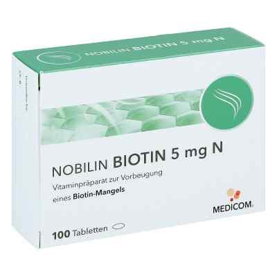 Nobilin Biotin 5 mg N Tabletten  bei juvalis.de bestellen