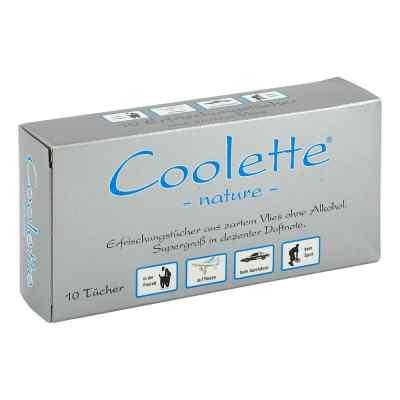 Coolette Nature Erfrischungstücher Vlies  bei juvalis.de bestellen