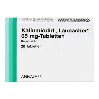 Kaliumiodid Lannacher 65 mg Tabletten  bei juvalis.de bestellen