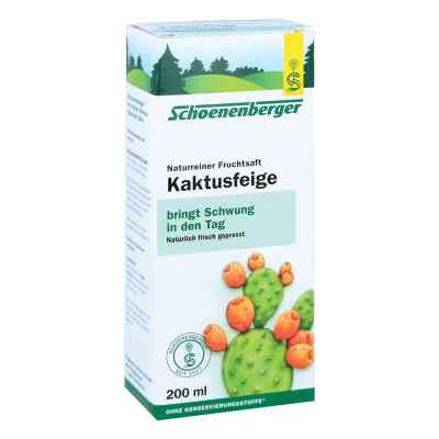 Kaktusfeige Saft bio Schoenenberger  bei juvalis.de bestellen