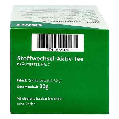 Stoffwechsel Aktiv Tee Kräutertee Nummer 7 bio Salus  bei juvalis.de bestellen