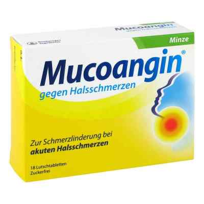 Mucoangin gegen Halsschmerzen Minze  bei juvalis.de bestellen