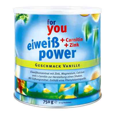 For You Eiweiss Power Vanille  bei juvalis.de bestellen