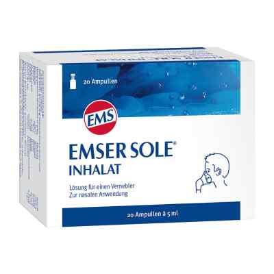 Emser Sole Inhalat Lösung für einen Vernebler  bei juvalis.de bestellen