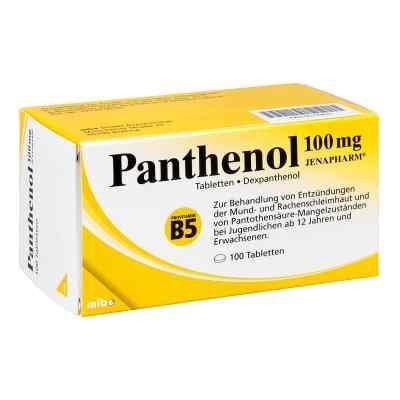 Panthenol 100 mg Jenapharm Tabletten  bei juvalis.de bestellen