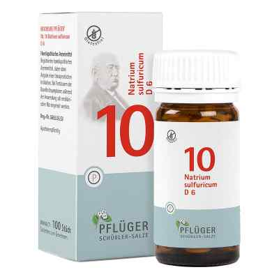 Biochemie Pflüger 10 Natrium Sulfur D  6 Tabletten  bei juvalis.de bestellen