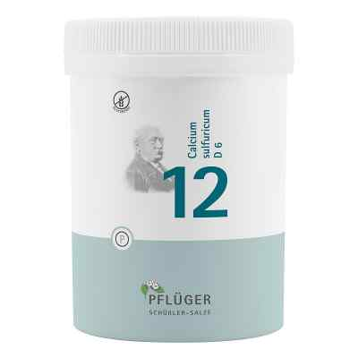 Biochemie Pflüger 12 Calcium Sulfur D6 Tabletten  bei juvalis.de bestellen