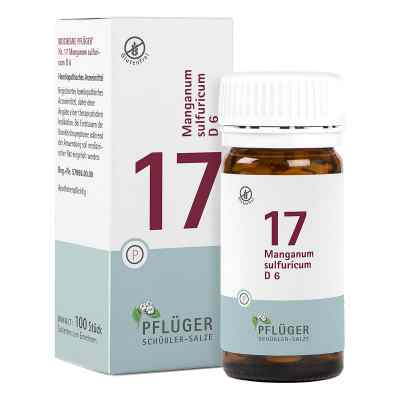 Biochemie Pflüger 17 Manganum Sulfur D6 Tabletten  bei juvalis.de bestellen
