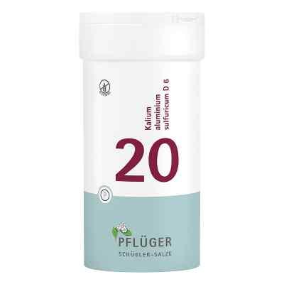 Biochemie Pflüger 20 Kalium alum.sulf.D 6 Tabletten  bei juvalis.de bestellen