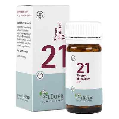 Biochemie Pflüger 21 Zincum chloratum D6 Tabletten  bei juvalis.de bestellen