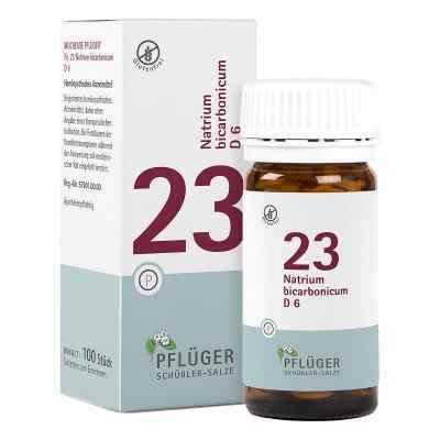 Biochemie Pflüger 23 Natrium bicarbon.D 6 Tabletten  bei juvalis.de bestellen