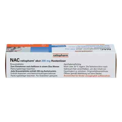 NAC-ratiopharm akut 200mg Hustenlöser  bei juvalis.de bestellen