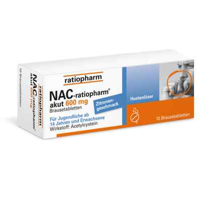 NAC-ratiopharm akut 600mg Hustenlöser  bei juvalis.de bestellen