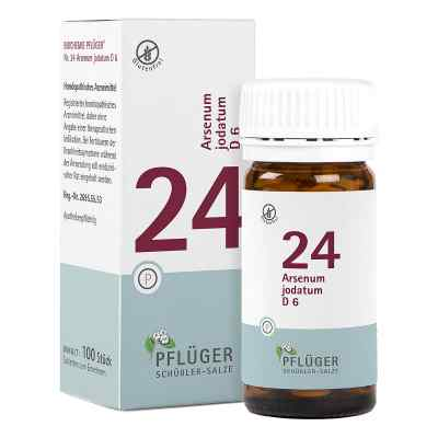 Biochemie Pflüger 24 Arsenum jodatum D6 Tabletten  bei juvalis.de bestellen