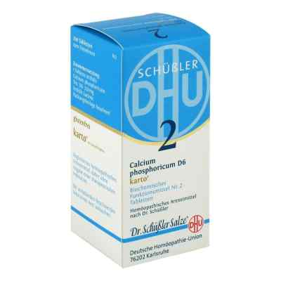 Biochemie Dhu 2 Calcium phosphorus D6 Karto Tabletten  bei juvalis.de bestellen