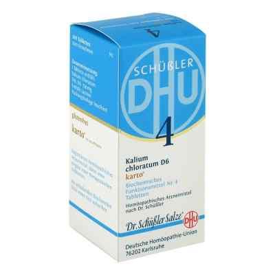 Biochemie Dhu 4 Kalium chlorat. D6 Karto Tabletten  bei juvalis.de bestellen