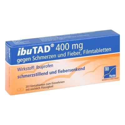 IbuTAD 400mg gegen Schmerzen und Fieber  bei juvalis.de bestellen