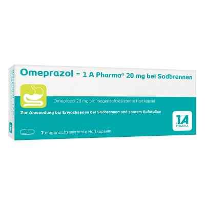 Omeprazol-1A Pharma 20mg bei Sodbrennen  bei juvalis.de bestellen