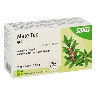 Mate Tee grün Kräutertee Mate folium bio Salus  bei juvalis.de bestellen