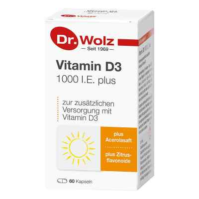 Vitamin D3 1000 I.e. plus Doktor wolz Kapseln  bei juvalis.de bestellen