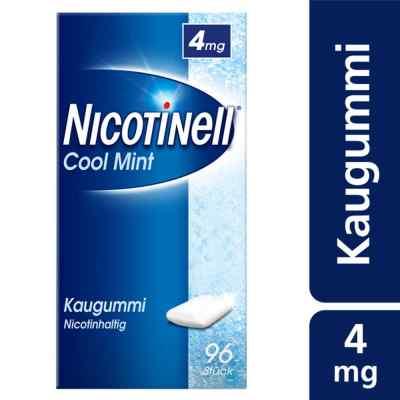 Nicotinell Kaugummi 4 mg Cool Mint (Minz-Geschmack)  bei juvalis.de bestellen