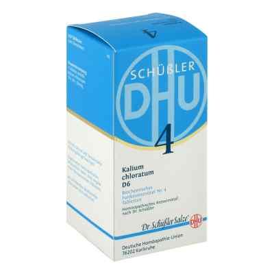 Biochemie Dhu 4 Kalium chlorat. D6 Tabletten  bei juvalis.de bestellen