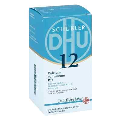 Biochemie Dhu 12 Calcium Sulfur D12 Tabletten  bei juvalis.de bestellen