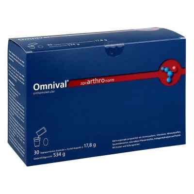 Omnival orthomolekul.2OH arthro norm 30gran.kap.  bei juvalis.de bestellen