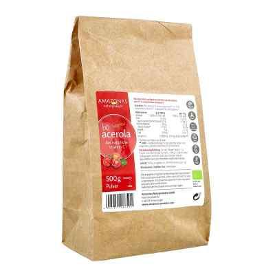 Acerola 100% Bio Pur nat.Vit.C Pulver  bei juvalis.de bestellen