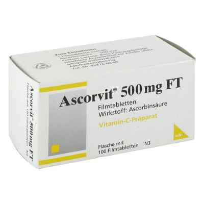 Ascorvit 500 mg Ft Filmtabletten  bei juvalis.de bestellen