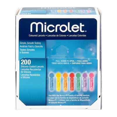 Microlet Lanzetten farbig  bei juvalis.de bestellen