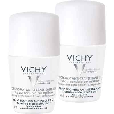 Vichy Deo Roll on Sensitiv Anti transparent 48h Doppelp.  bei juvalis.de bestellen
