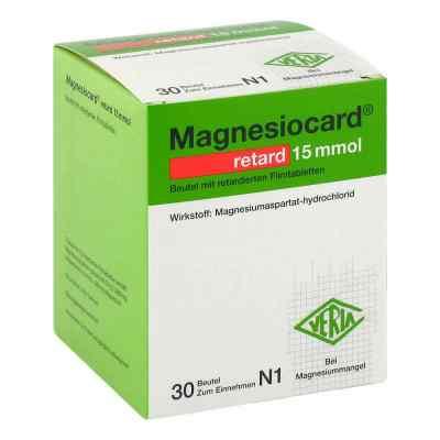 Magnesiocard retard 15 mmol Beutel mit ret.Filmtabl.  bei juvalis.de bestellen