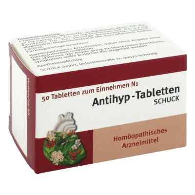 Antihyp Tabletten Schuck  bei juvalis.de bestellen