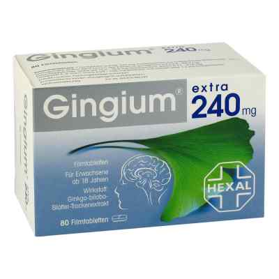 Gingium extra 240mg  bei juvalis.de bestellen
