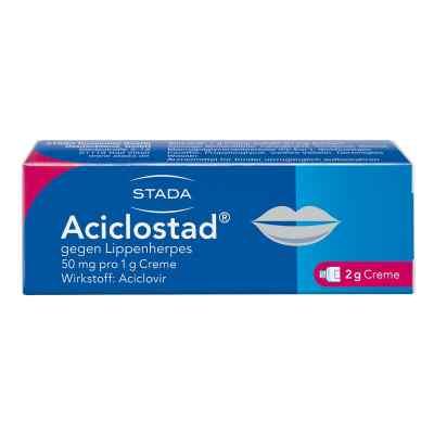 Aciclostad gegen Lippenherpes 50mg pro 1g  bei juvalis.de bestellen