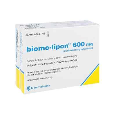 Biomo Lipon 600 mg Ampullen  bei juvalis.de bestellen