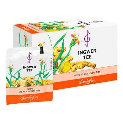 Ingwer Tee Filterbeutel  bei juvalis.de bestellen