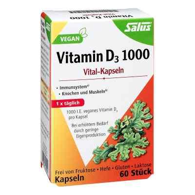 Vitamin D3 1000 vegan Vital-kapseln Salus  bei juvalis.de bestellen